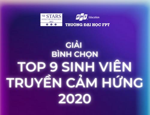 Đại học FPT Đà Nẵng khởi động giải Bình chọn Top 9 sinh viên truyền cảm hứng 2020