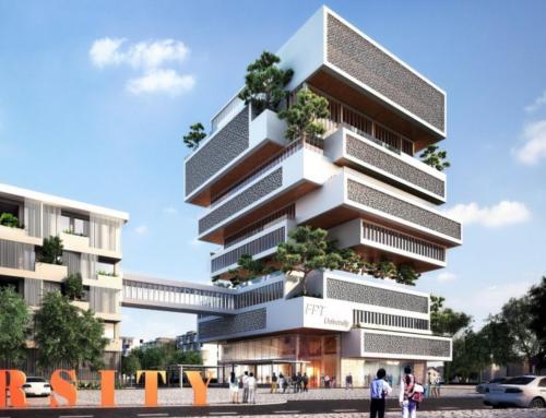 Thiết kế tòa nhà Alpha của ĐH FPT campus Đà Nẵng được giải thưởng World Architecture Award
