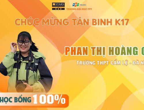 """Tân binh K17 Phan Thị Hoàng Oanh: """"Nỗ lực là tiền đề cho sự thành công"""""""